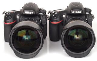 New Nikon D800E, DSLR camera