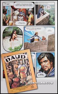 fitnah Bible atas Daud Sulaiman dan Yesus