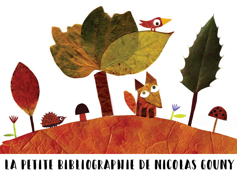 La petite bibliographie de Nicolas Gouny