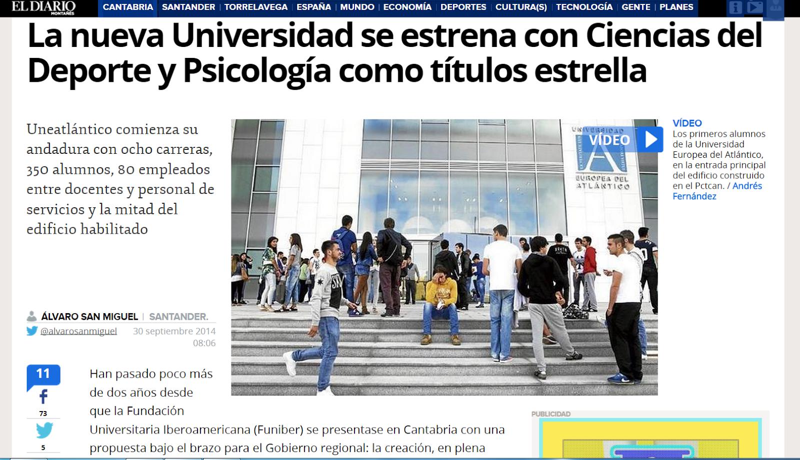 Universidad Europea del Atlántico - UNEATLANTICO