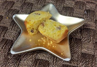 birthday dessert ideas: Bacon Cheddar Corn Muffins