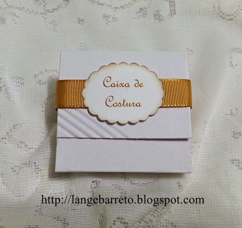 Caixa kit costura