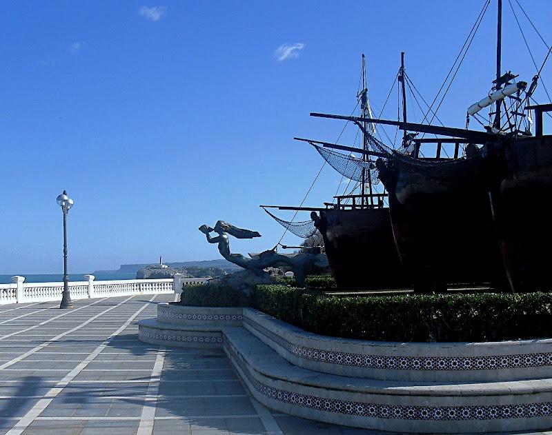 Galeones de Vital Alsar en Santander