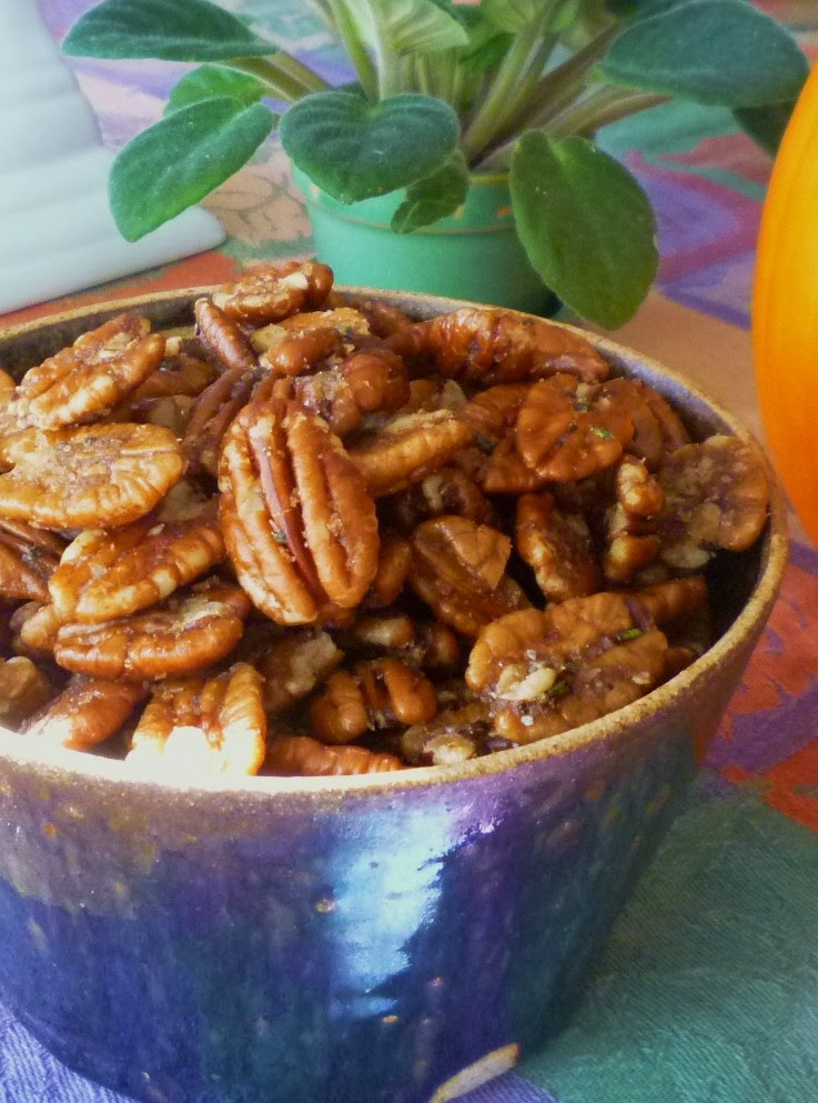 For Love of the Table: Savory Spiced Pecans