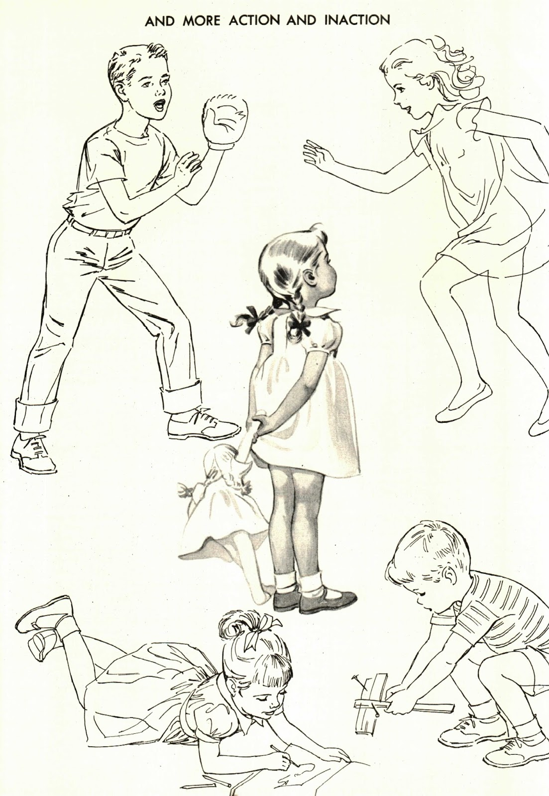here are some scanned pages from how to draw and paint children by viola french published by walter t foster the book is too large for my scanner so i used - Pictures To Paint For Children