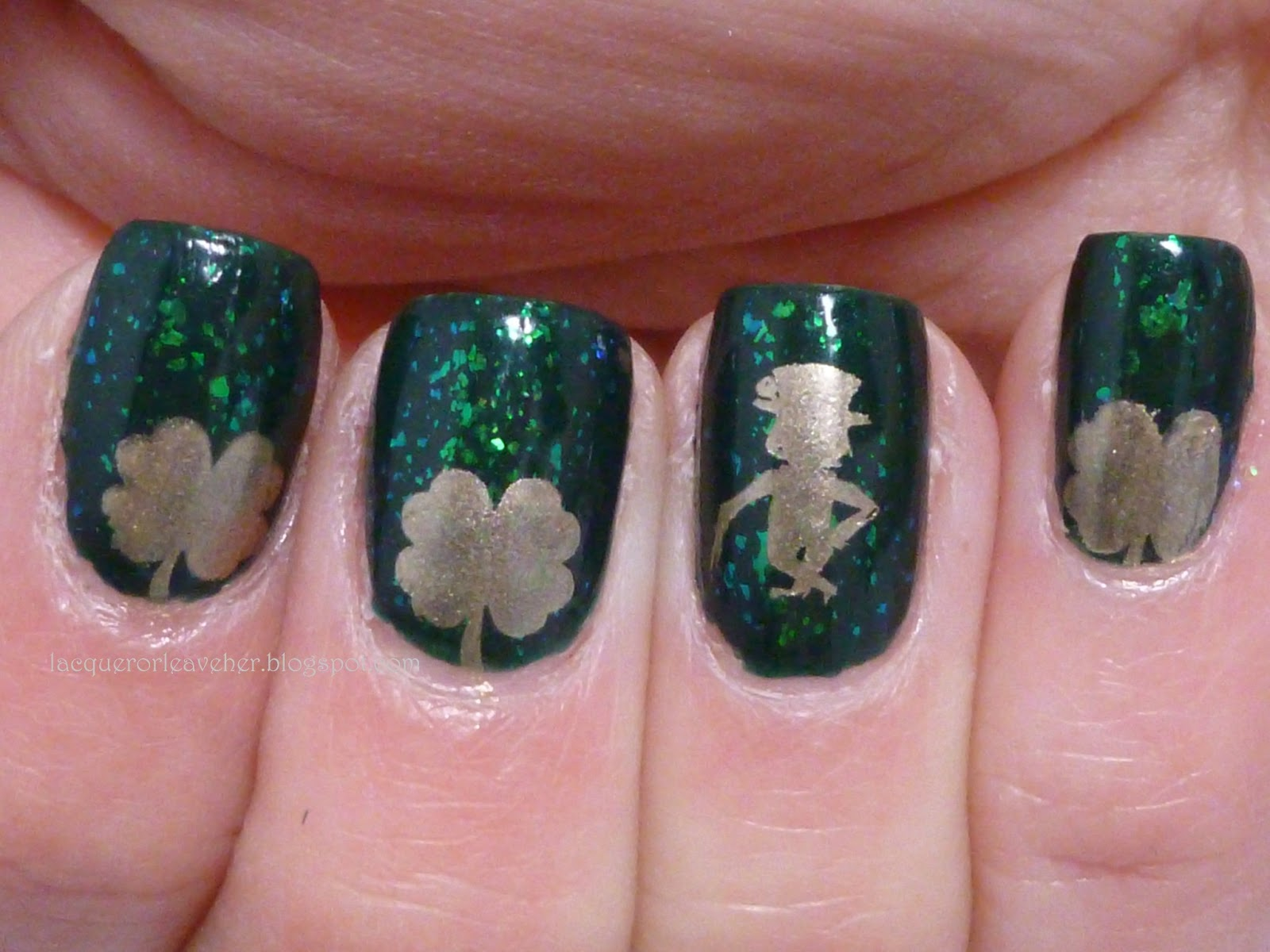 Lacquer or Leave Her!: Before & After: Little Leprechaun Guy