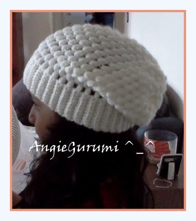 Amigurumi DIY by AngieGurumi: Crochet, Slouchy Beanie (Gorro caído ...