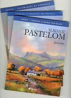 Pastel in Serbian, French & Italian