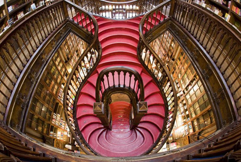 ¿Es este la más bella librería del mundo?