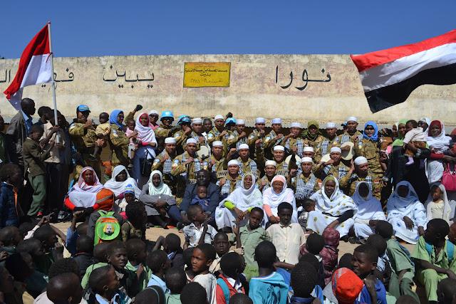 Hadrah Marawis Indobatt Jadi Terkenal di Darfur