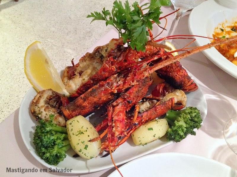 Marfino Restaurante: Lagostas Grelhadas
