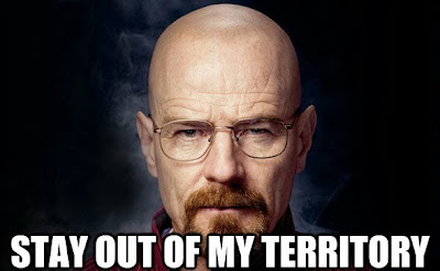 Walter White: Stay out of my territory
