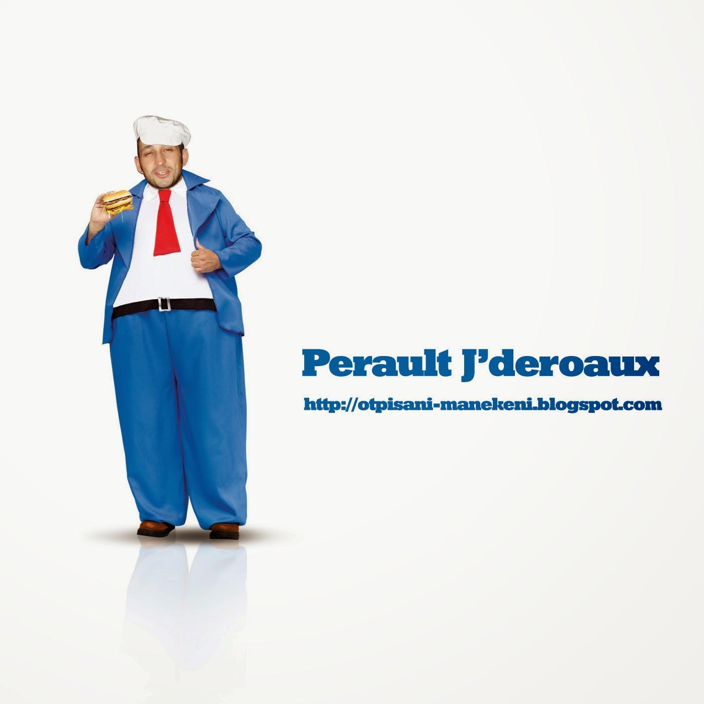 Perault J'deroaux mahmut otpisani manekeni kastav