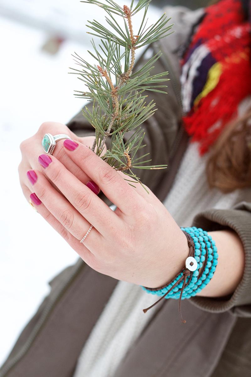 turquoise beaded victoria emerson bracelet