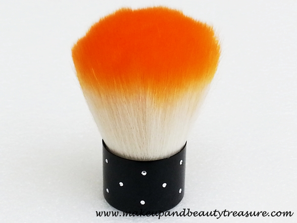 Born Pretty Store Soft Orange & White Color Makeup Powder Blush Brush Review