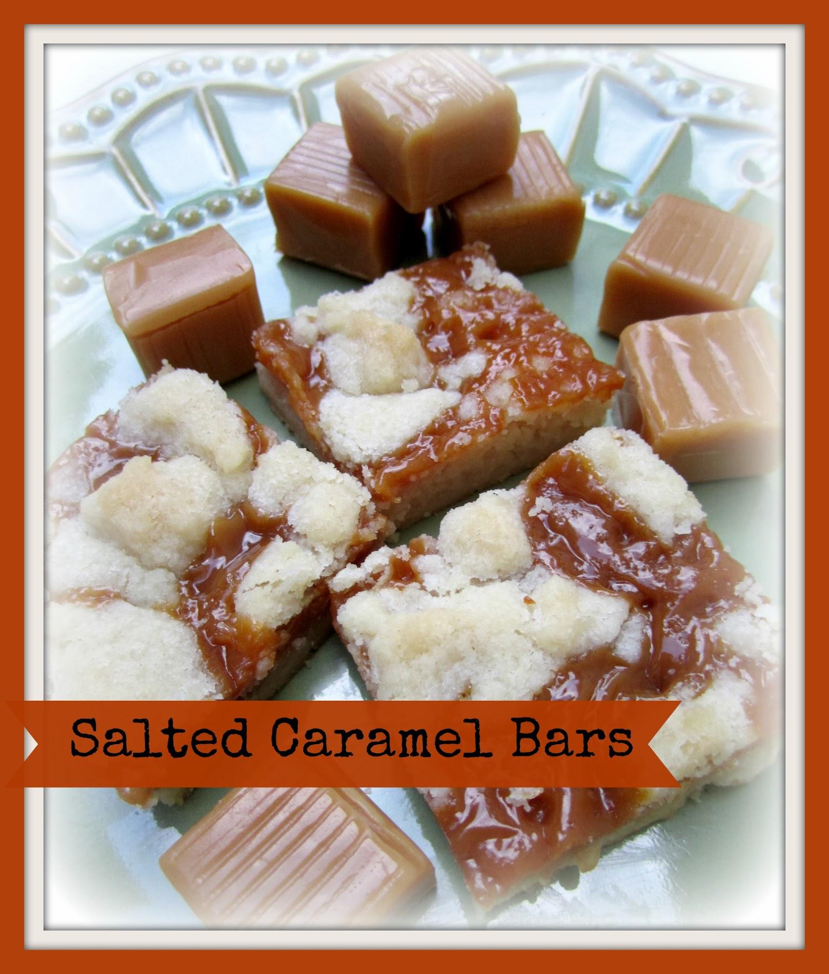 Salted Caramel Bars Recipe