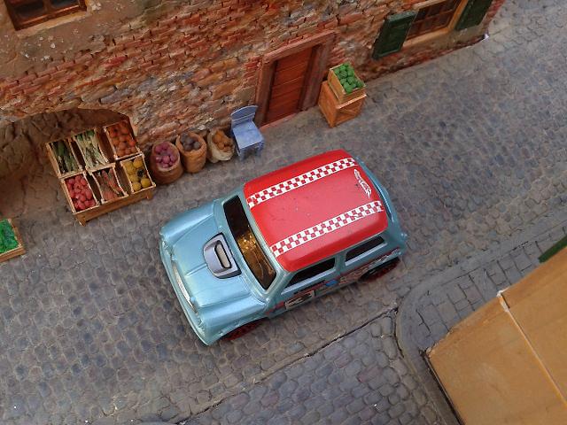 The old brick house diorama (1:64)