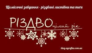 Різдво цілий рік з Аґрафкою