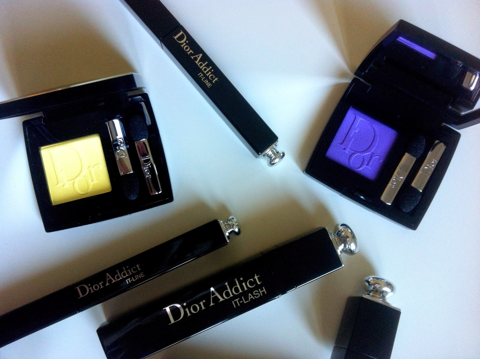 Dior IT Lash mascara, dior it line eyeliner, diorshow mono eyeshadow