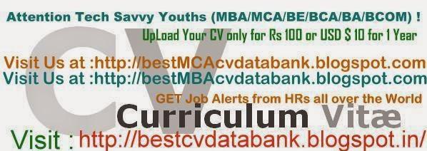 Best MCA CV Data Bank