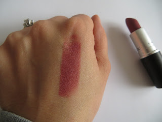 MAC Lipstick Swatch Twig Review