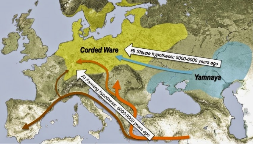 DNA reveals the origins of modern Europeans