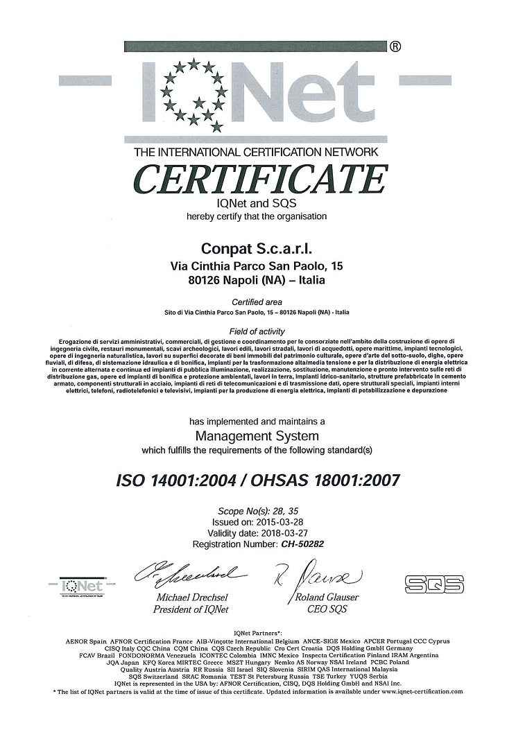 ISO 14001:2004 OHSAS 18001:2007