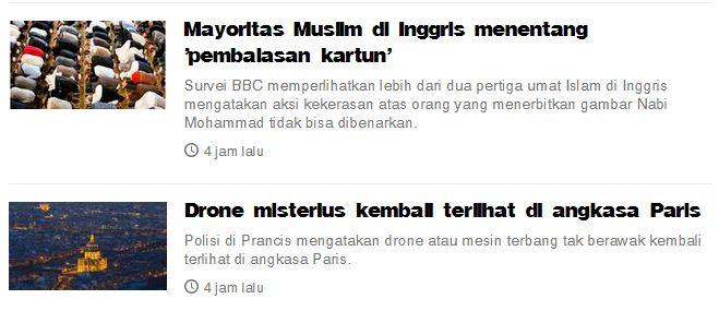 judul berita BBC Indonesia