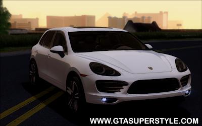GTA SA - Porsche Cayenne Turbo S 2013
