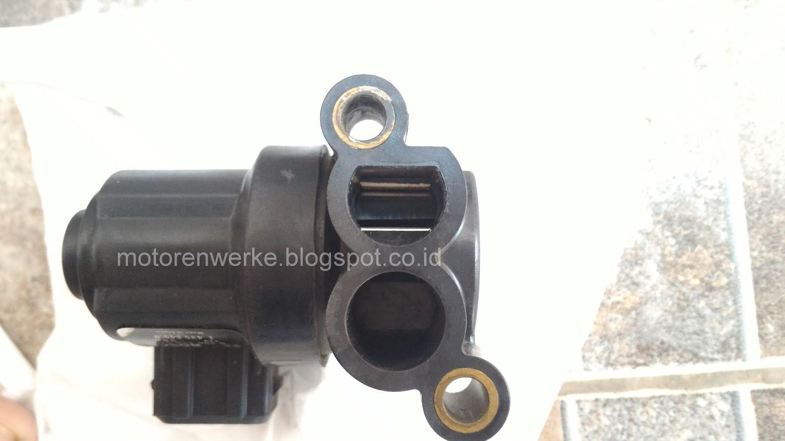 ... cara untuk membersihkan idle up idle regulating valve idle control