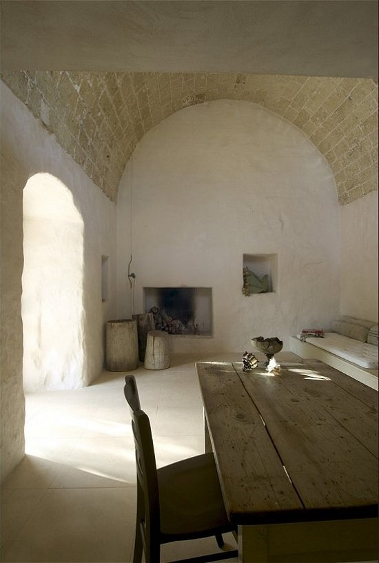 Neutral heaven interior design and mood creation simple for French farmhouse architecture