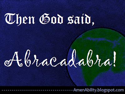 Amenability And God Said Quot Abracadabra Quot