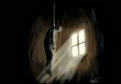 Suicídio, se matando, suicidar, matando inforcardo.
