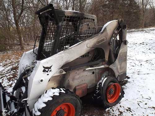 Bobcat S300 skid steer
