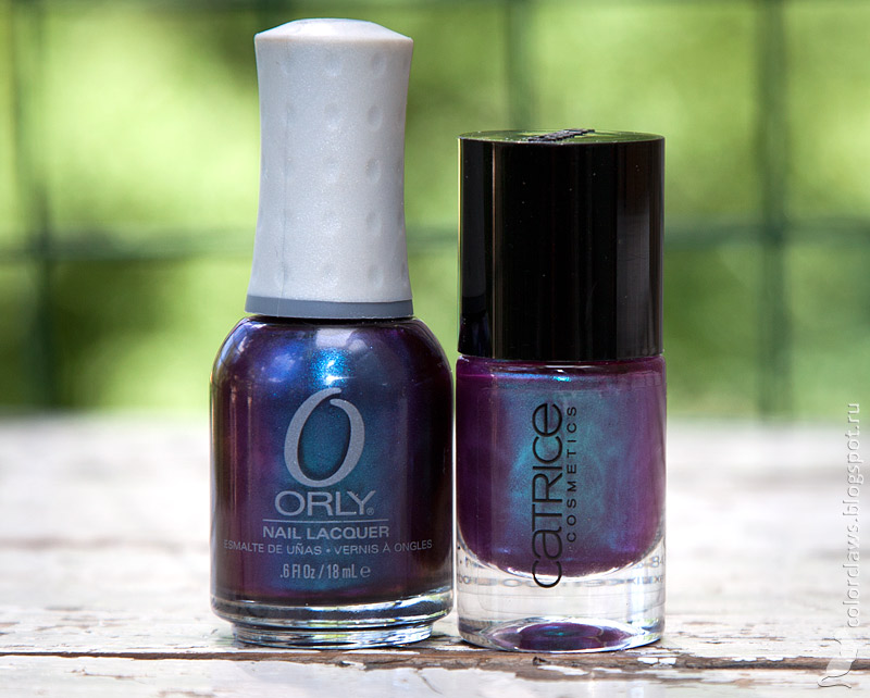 Catrice #46 Berry Potter & Plumbledore, Orly Royal Velvet