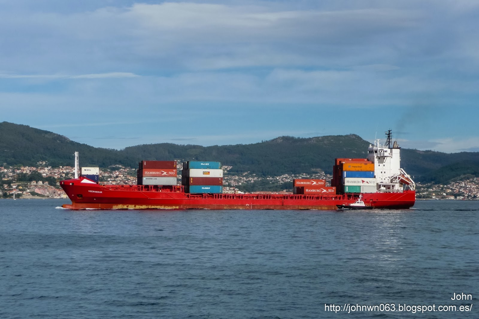 veersedijk, fotos de barcos, container ship, portacontenedores