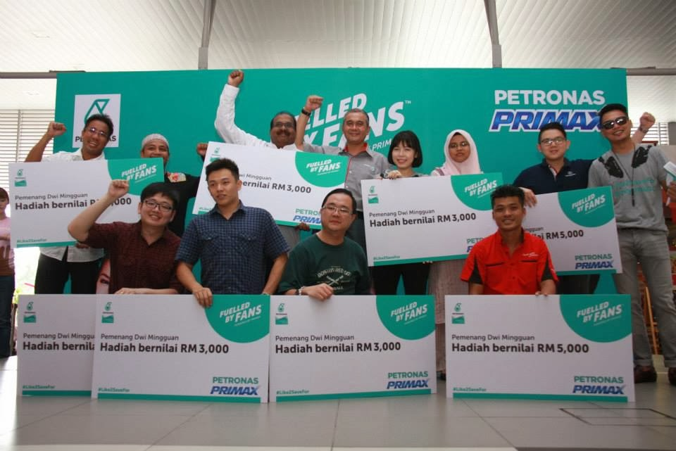 Leave your own track: fuelled by fans challenge   petronas