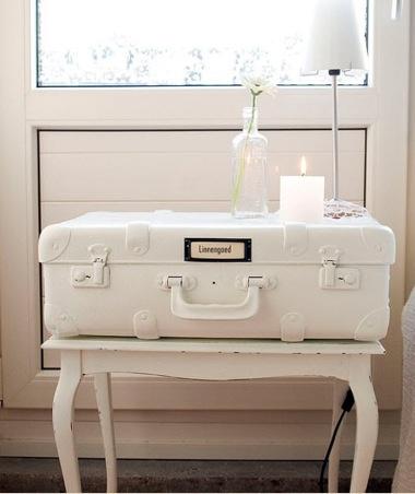 valigia all white