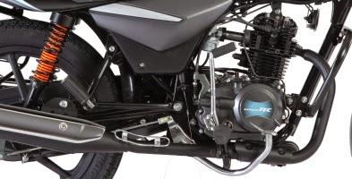Bajaj Platina Engine