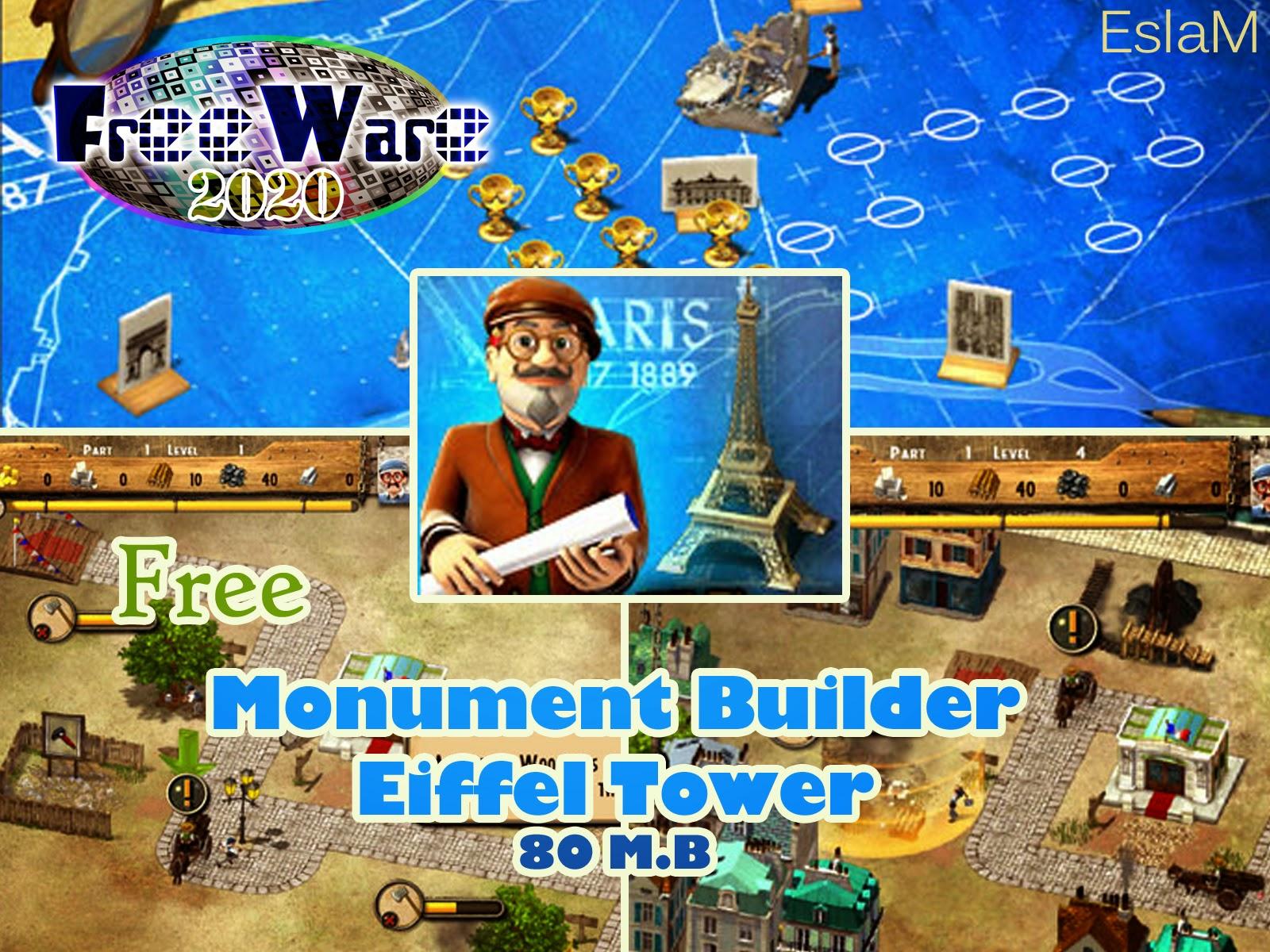 تحميل لعبة Monument Builder Eiffel Tower مجاناً