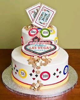 Tortas de Casino para Fiestas de 15 Años, parte 1