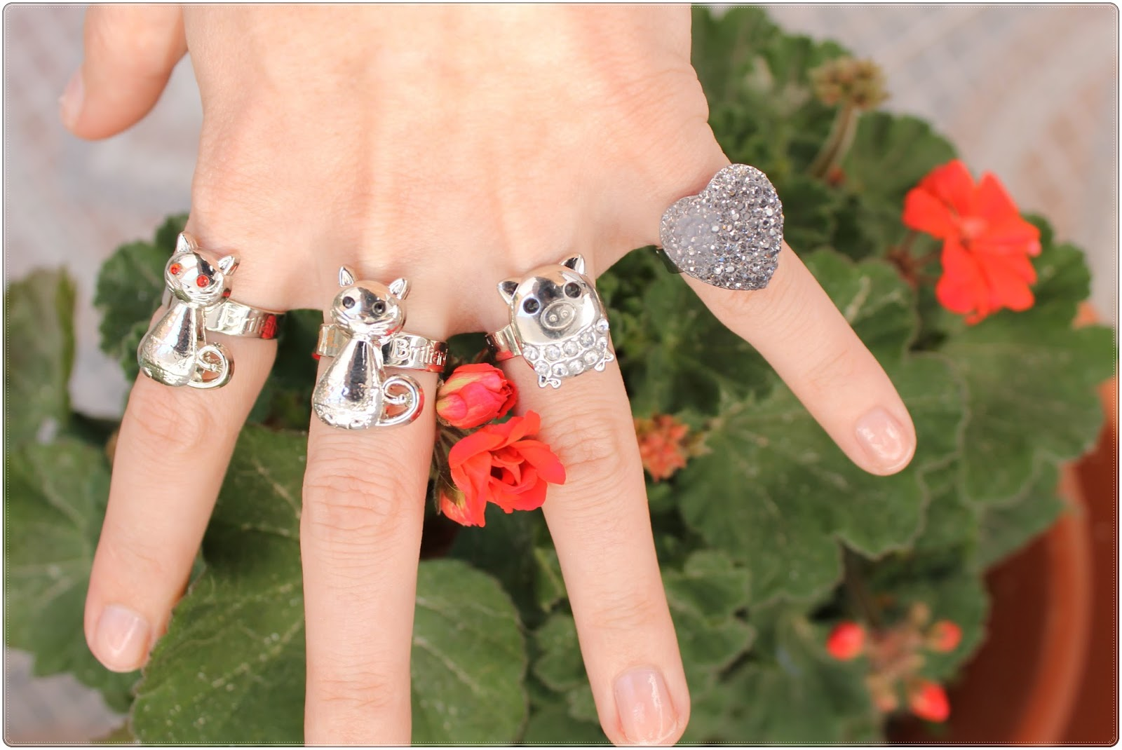 anillos para niñas