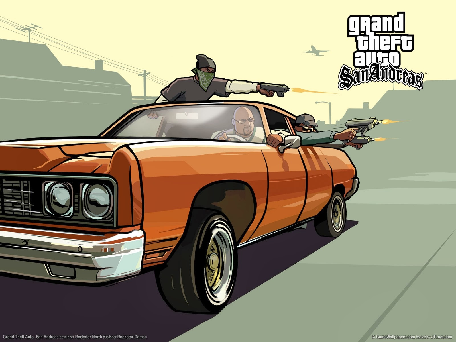 Wallpaper GTA San Andreas