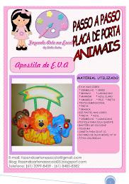 APOSTILA PLACA DE PORTA ANIMAIS