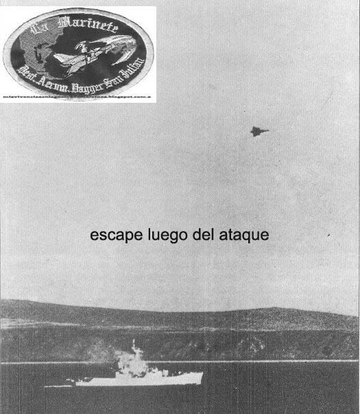 militar - Guerra de las Malvinas - Página 9 Ataque+bahia+dagger111+copia