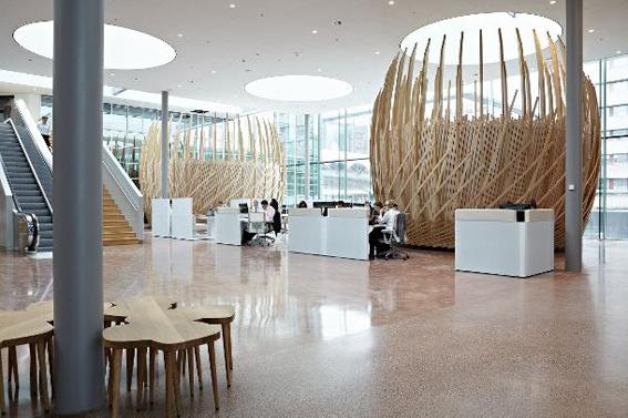 Drkmttr beehive office for Interieur utrecht