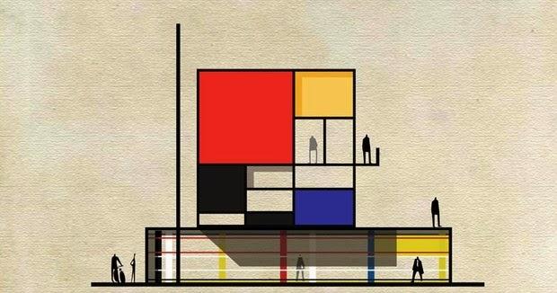 Se os artistas plásticos fossem arquitetos...