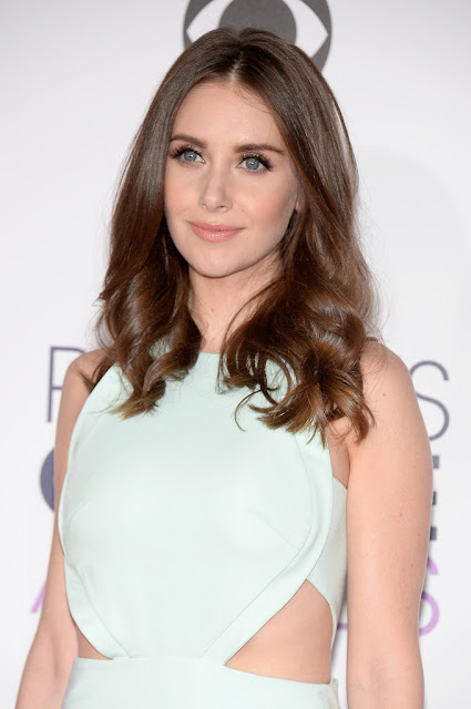 Actress, @ Alison Brie - People's Choice Awards in LA