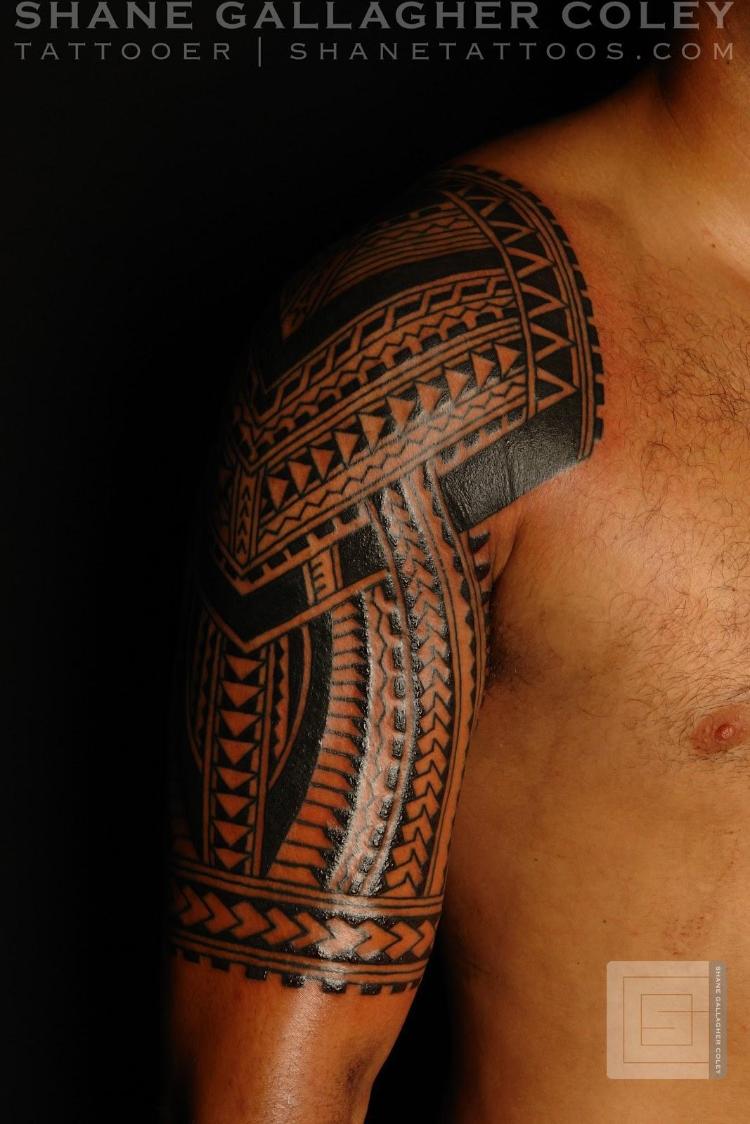 maori polynesian tattoo polynesian half sleeve. Black Bedroom Furniture Sets. Home Design Ideas