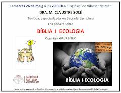 XERRADA COL.LOQUI SOBRE BÍBLIA I ECOLOGIA